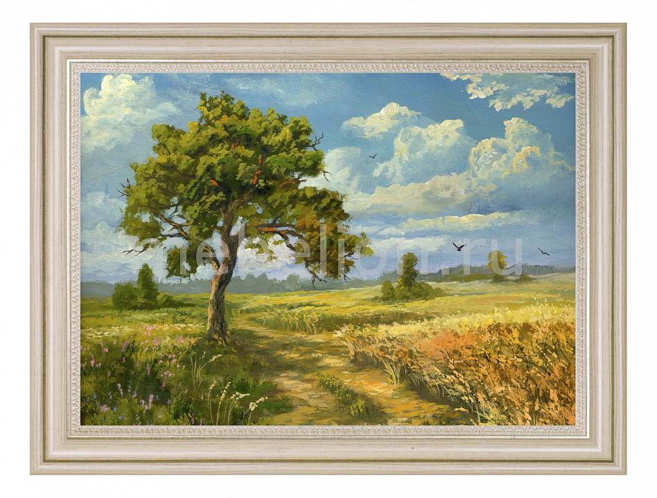Панно Ekoramka (50х70 см) Дерево у дороги 1722096Б5070