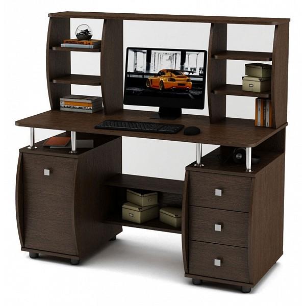 Стол компьютерный Карбон-6