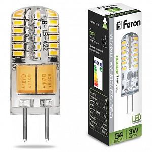 Лампа светодиодная LB-422 G4 12В 3Вт 4000K 25532