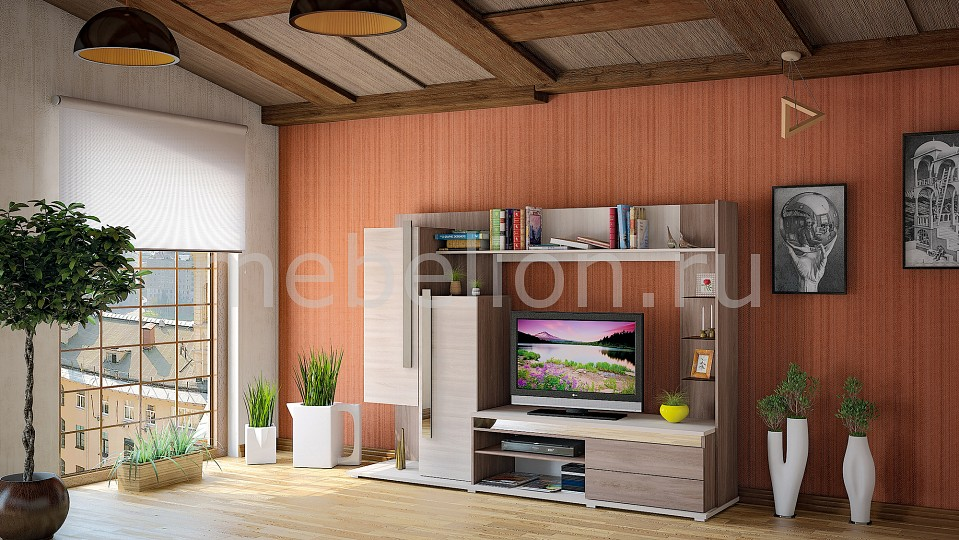 Гостиная MOBI MOB_Latte3-02K от Mebelion.ru