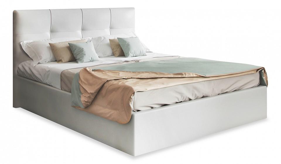 Кровать двуспальная с матрасом и подъемным механизмом Caprice 180-200
