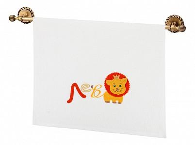 Полотенце детское( 50x90 см) Азбука-Лев