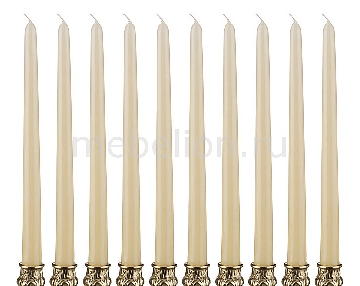 Свеча декоративная АРТИ-М Набор из 10 свечей декоративных 348-378 крючок декоративный арти м набор из 3 крючков декоративных 189 117