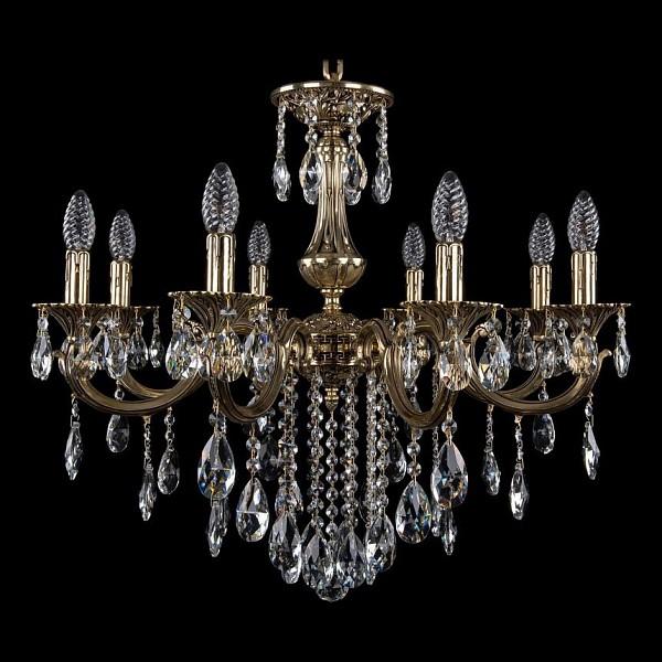Подвесная люстра 1702/8/250/B/GB Bohemia Ivele Crystal 1702/8/B/GB  (BI_1702_8_B_GB), Чехия