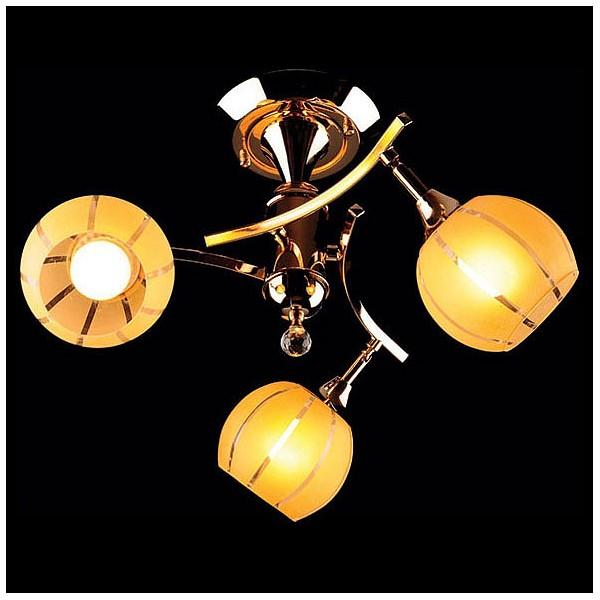 Люстра на штанге 3353-3457 3353/3 золото/желтый Eurosvet  (EV_24696), Китай (КНР)