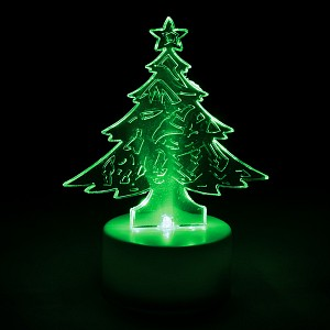 Свеча светодиодная (6х8 см) Елочка 55052