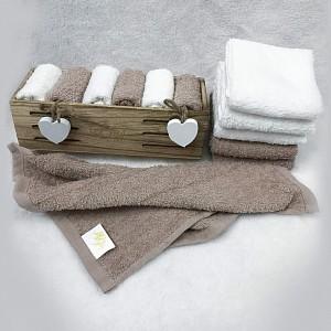 Набор из 6 полотенец для рук (30x30 см) Алита