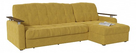 Угловой диван Денвер желтый