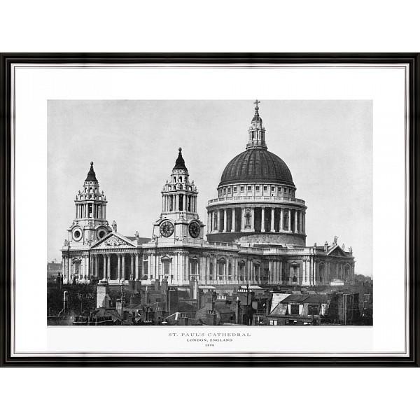 Картина (40х30 см) Собор Святого Павла в Лондоне BE-103-309 фото
