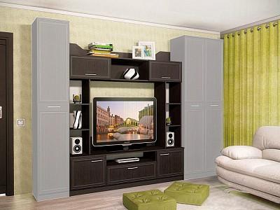 Стенка под ТВ для гостиной Браво SLV_NM_013_07_01_Bravo_1