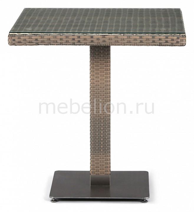 Стол Afina AFN_T601G-W1289-70x70_Pale от Mebelion.ru