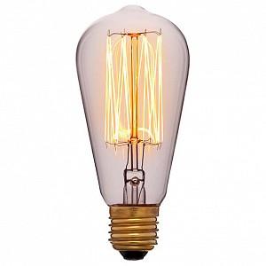 Лампа накаливания ST58 E27 240В 60Вт 2200K 053-228