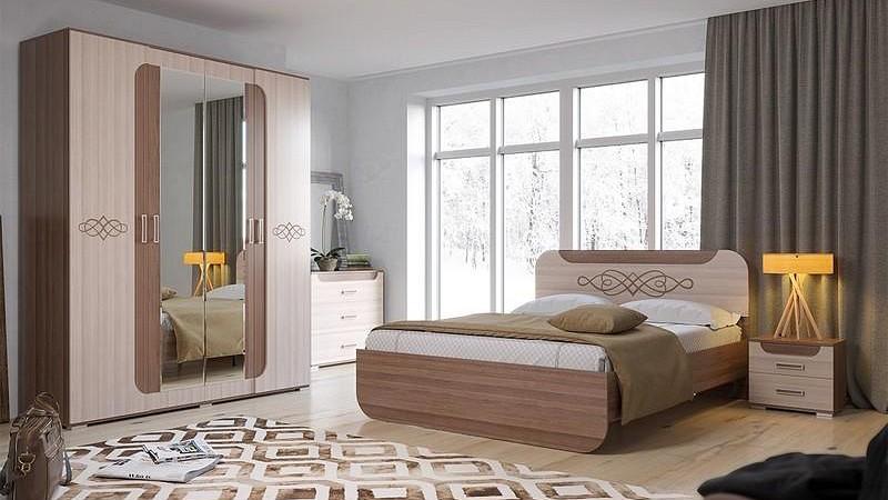 Гарнитур для спальни Пальмира