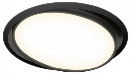Встраиваемый светильник DL18813 DL18813/9W Black R