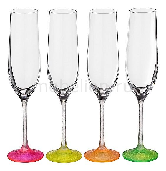 Набор для шампанского из 4 шт. Neon frozen 674-332