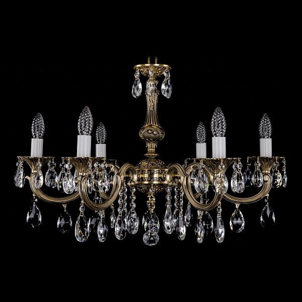 Подвесная люстра 1702/6/250/A/GB Bohemia Ivele Crystal 1702/6/A/GB  (BI_1702_6_A_GB), Чехия