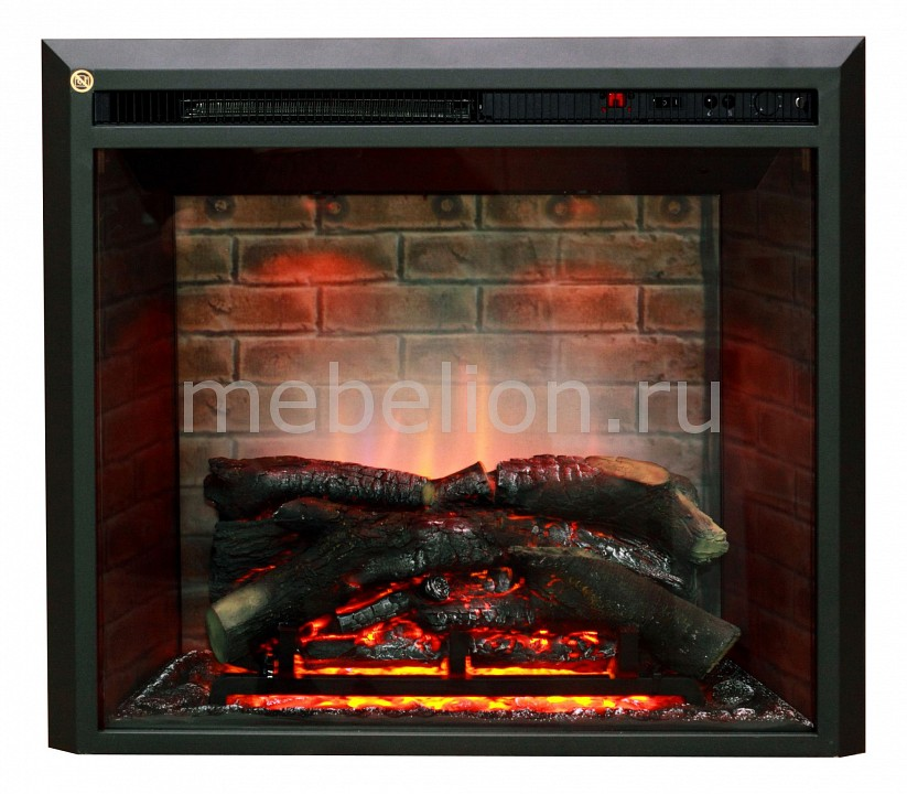 Электроочаг встраиваемый Real Flame (71х22.3х62.5 см) Leeds 26SD 00000000828 710 mini sit for fryers flame failure device ffd thermostat 0710743 710743