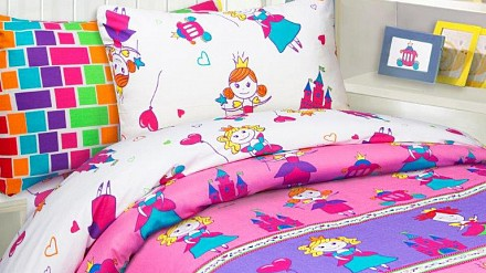 Комплект постельного белья Принцессы