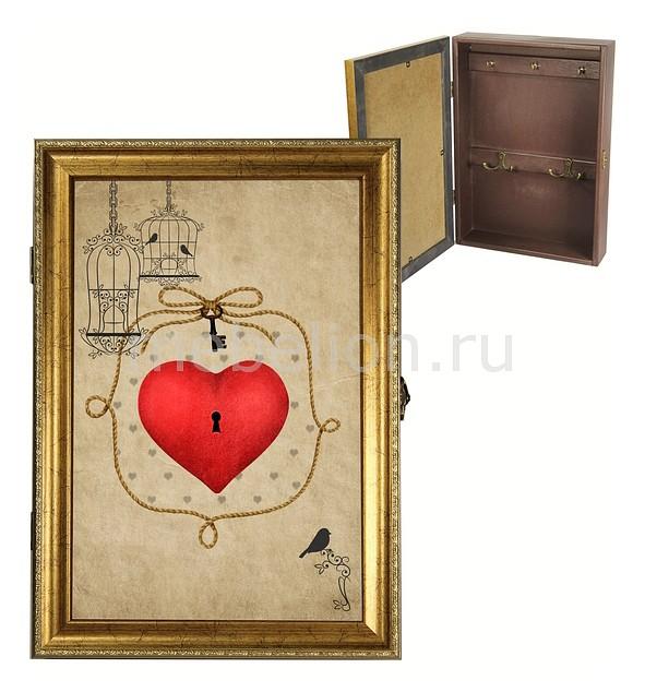 Ключница Акита (24х34 см) Ключ от сердца 312-4