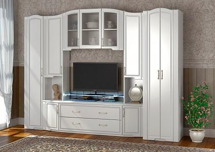 Стенка под ТВ для гостиной Виктория IZH_Viktorya_system_1