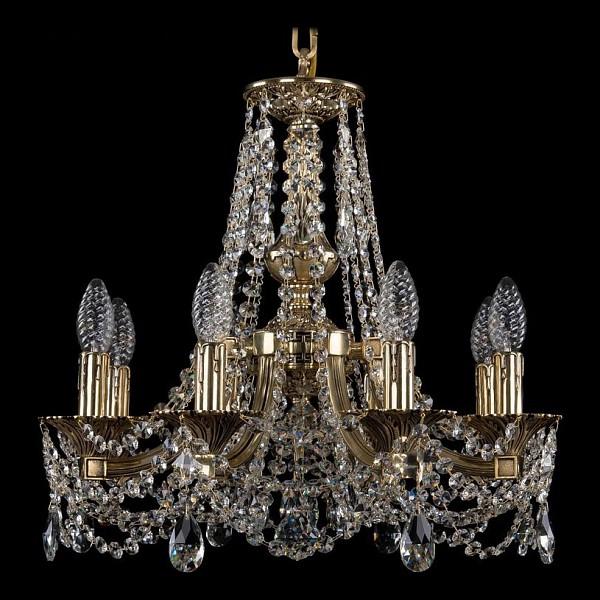 Подвесная люстра 1771/8/150/C/GB Bohemia Ivele Crystal  (BI_1771_8_150_C_GB), Чехия