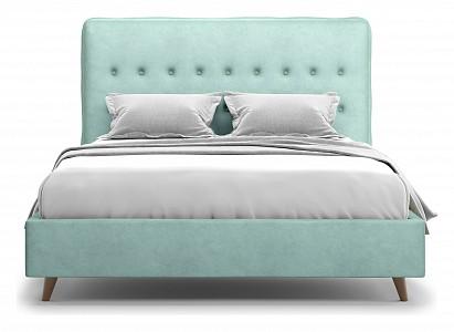 Кровать полутораспальная Bergamo 140 Lux Velutto 14