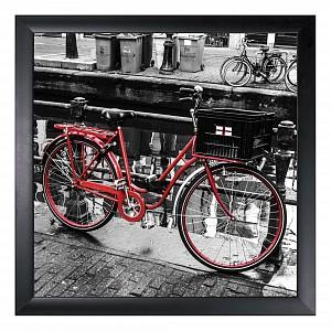 Панно (40х40 см) Красный велосипед 1721135