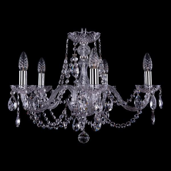 Подвесная люстра 1406/5/195/Ni Bohemia Ivele Crystal  (BI_1406_5_195_Ni), Чехия