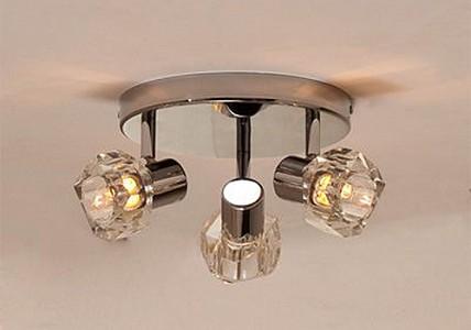 Спот поворотный Герда, 3 лампы G9 по 40 Вт., 6.67 м², цвет неокрашенный глянцевый