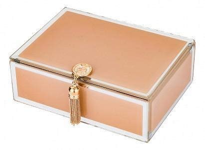 Шкатулка для украшений (16х12х6 см) Гламур 453-108