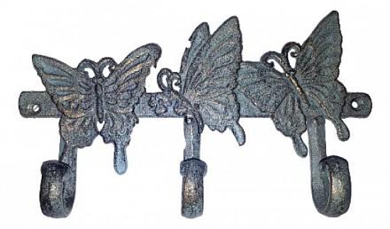 Вешалка настенная (26х4х15 см) Бабочки 14585