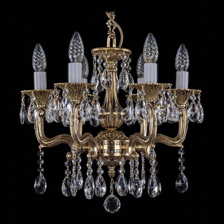 Купить Подвесная люстра 1704/6/UP125IV/A/GB, Bohemia Ivele Crystal