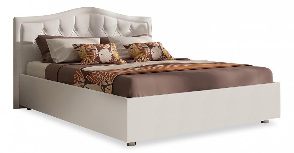 Кровать двуспальная с матрасом и подъемным механизмом Ancona 160-190