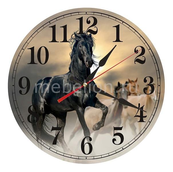 Настенные часы Акита (30 см) Конь AC21 цена и фото
