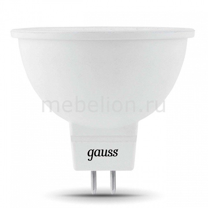 Купить Лампа светодиодная GU5.3 5Вт 150-265В 3000K 101505105, Gauss, Китай