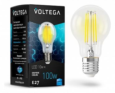 Лампа светодиодная [LED] Voltega E27 10W 4000K
