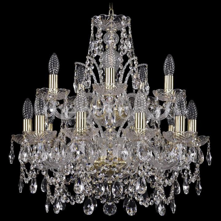 Купить Подвесная люстра 1411/10+5/195/2d/G, Bohemia Ivele Crystal