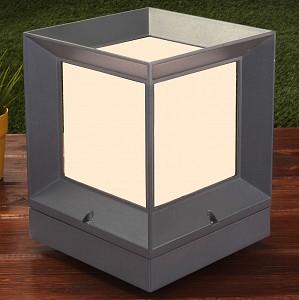 Наземный низкий светильник 1603 Techno Marko L серый