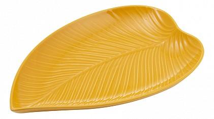 Блюдо декоративное (35.2x23x3.6 мм) In The Forest Leaf 2002.224