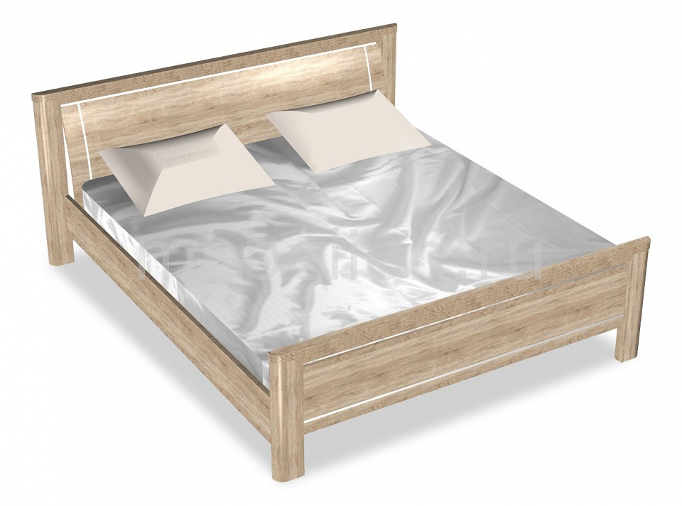 Кровать двуспальная Магнолия