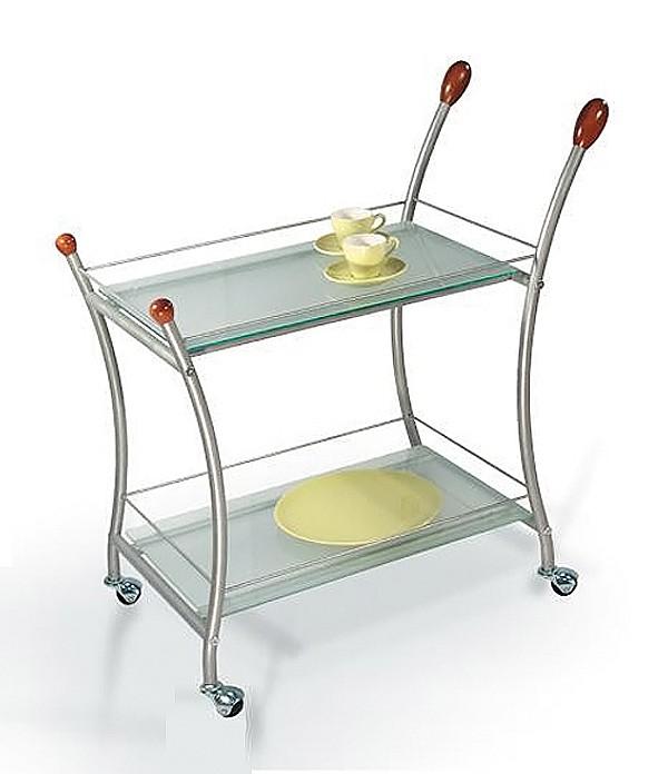 Сервировочный столик Мебелик ML_Polo_MET_MATT от Mebelion.ru