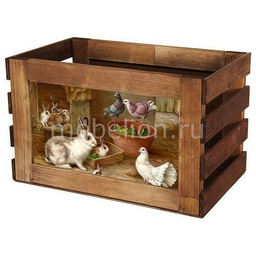 Ящик декоративный Акита Кролик 819 фаллоимитатор акита