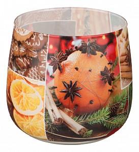 Свеча декоративная (6x7 см) Christmas time 348-438