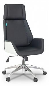 Кресло для руководителя _Optimum/WH/BLACK