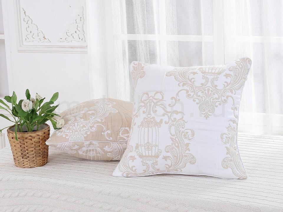 Наволочка для декоративных подушек CLEO CLE_45_001_4-BR от Mebelion.ru