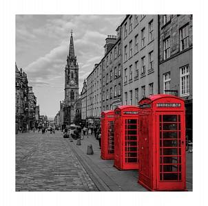 Картина (30х30 см) Телефонные будки HE-101-451