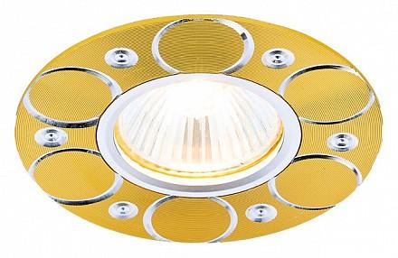Встраиваемый точечный светильник Classic A808 AMBR_A808_AL_G