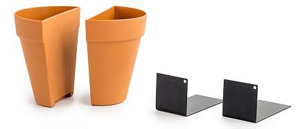 Держатель для книг (12х12х15.5 см) Plant Pot SK BOOKPLANT2