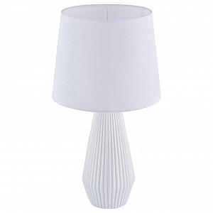 Настольная лампа с абажуром Calvin Table MY_Z181-TL-01-W