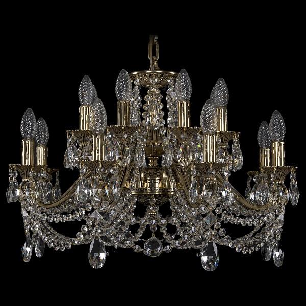 Подвесная люстра 1703/16/225/C/GB Bohemia Ivele Crystal  (BI_1703_16_225_C_GB), Чехия